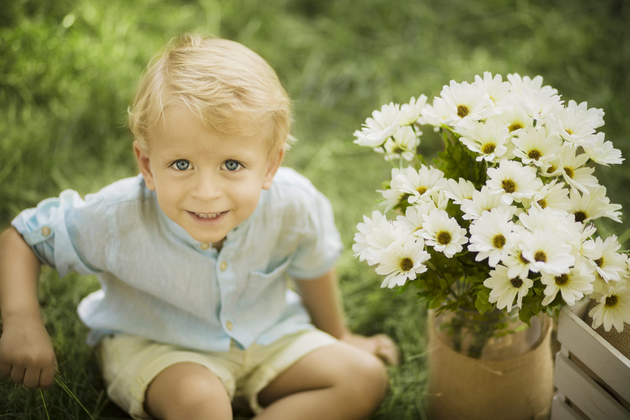 fotos de niños en el campo