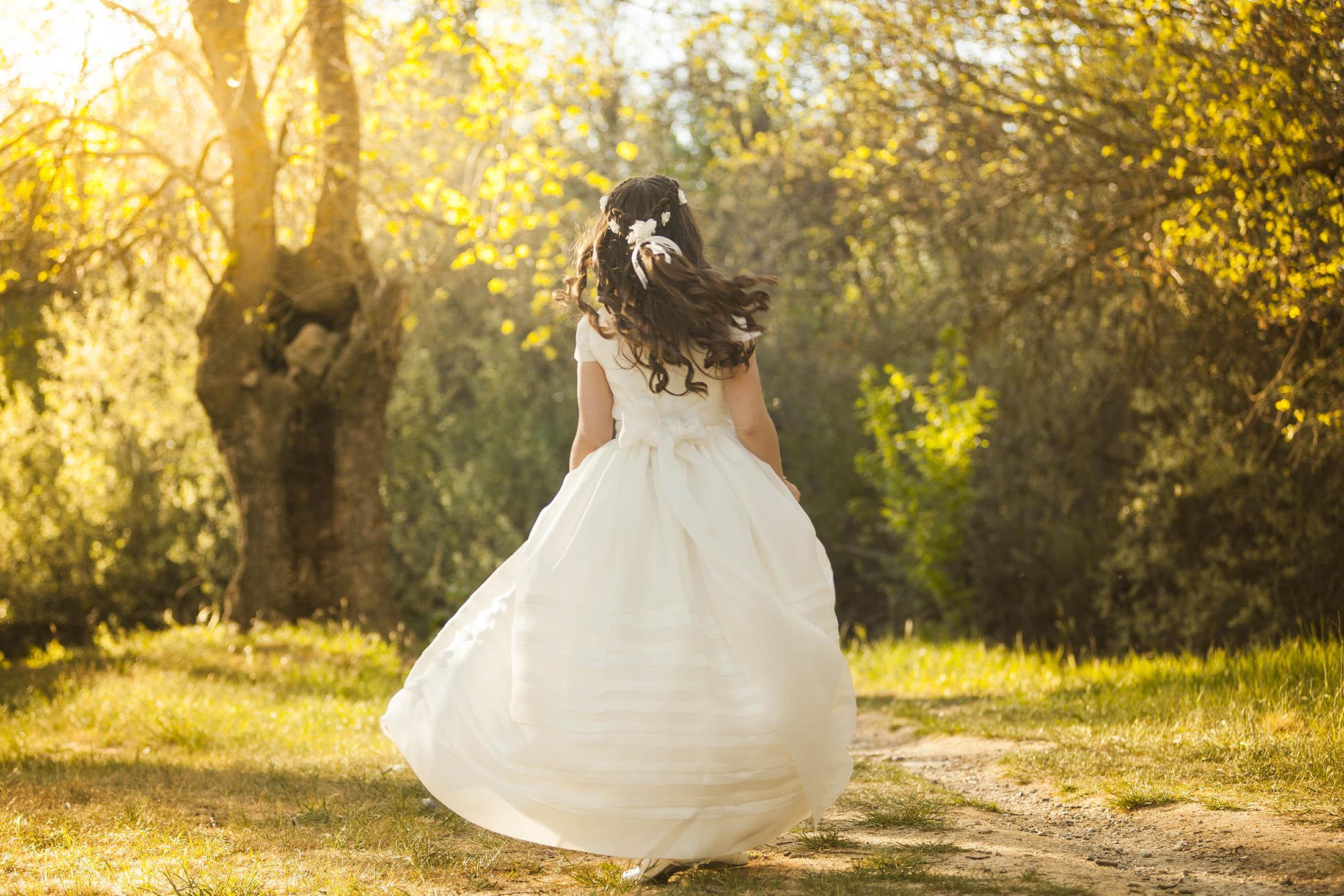 fotos de vestidos de comunion avila