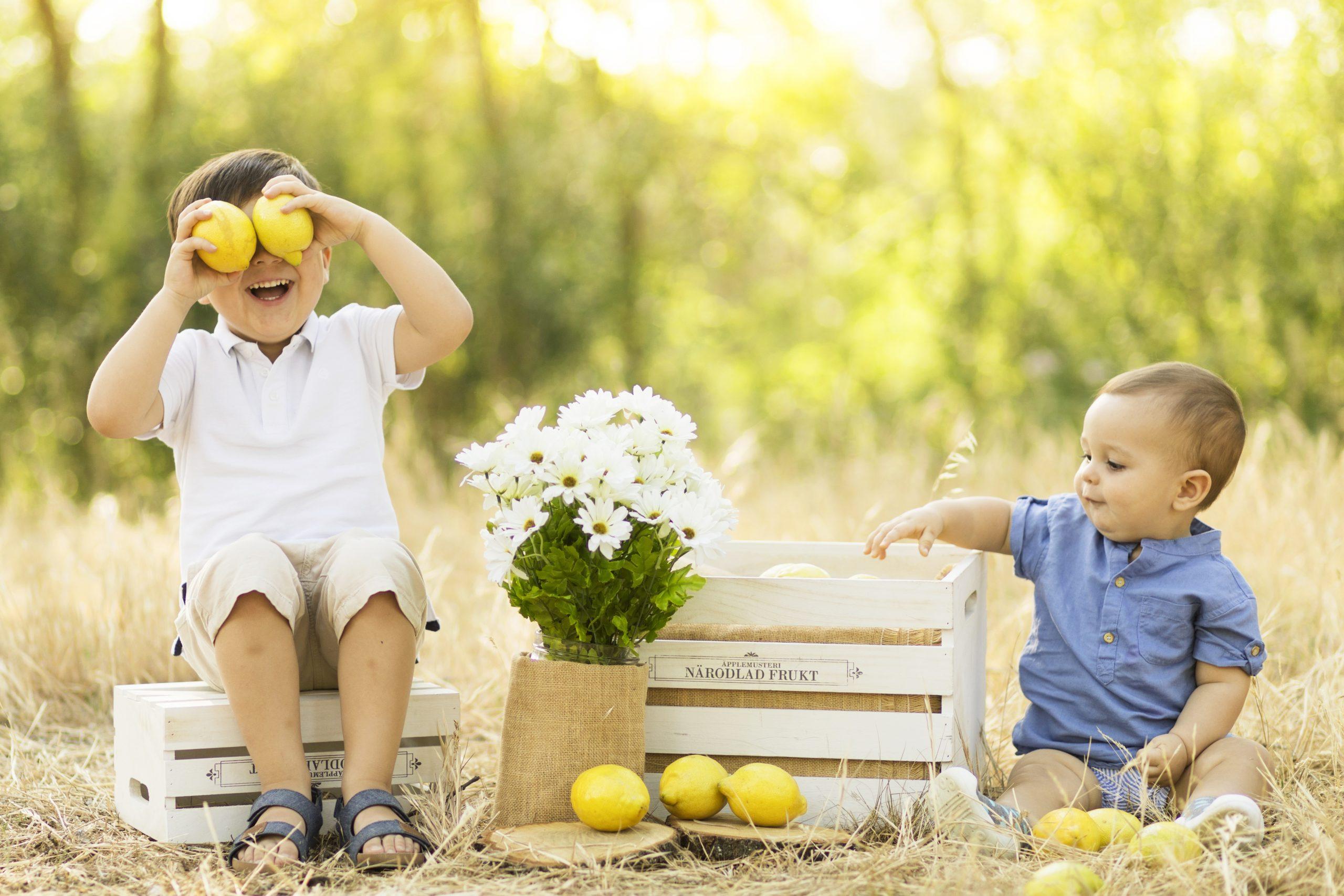 tematicas de fotos para niños avila