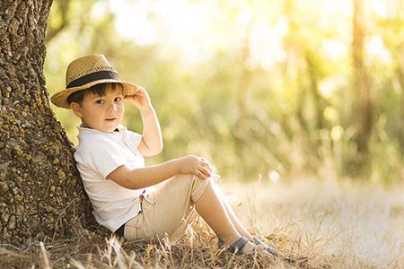 Fotógrafo niños en avila