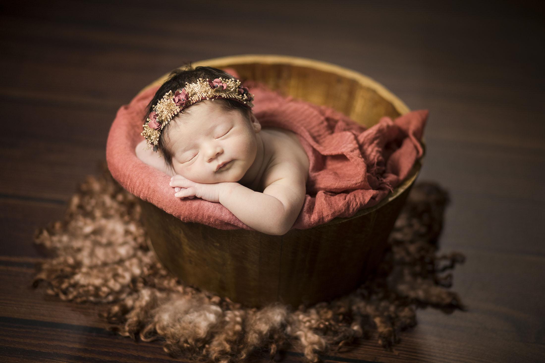 fotografia new born en avila