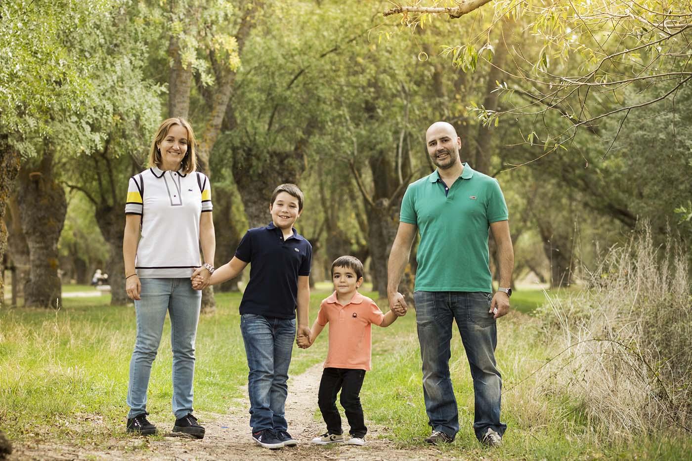familias de foto en avila